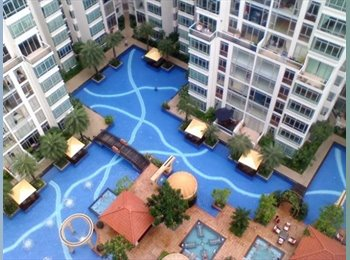EasyRoommate SG - Lake Shore Charming Common room for rent - Jurong, Singapore - $1200