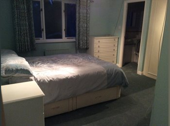 EasyRoommate UK - Good size double room with en suite in quiet area - New Milton, New Forest - £510