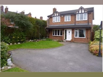 EasyRoommate UK - Furnished Double Room In a 4 Bed Detached Property - Glascote, Tamworth - £350