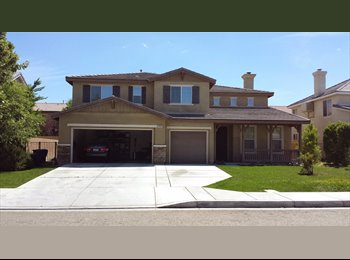 EasyRoommate US - Nice Safe Quiet West Lancaster Longer Term Wanted - Antelope Valley, Los Angeles - $550