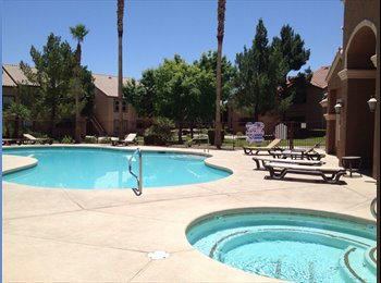 EasyRoommate US - Beautiful 1BR unfurnished condo available for rent - Summerlin, Las Vegas - $745