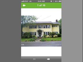 EasyRoommate US - Large, double room in beautiful neighborhood - Stamford, Stamford Area - $1100