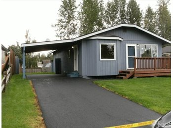 EasyRoommate US - Cute ranch style house with large fenced yard and - Anchorage Bowl, Anchorage - $700