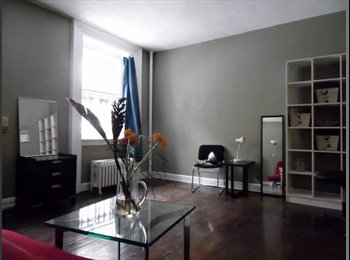 EasyRoommate US - Sunny Studio, Private, Prime Locn,  3-6 mos - East Village, New York City - $1800