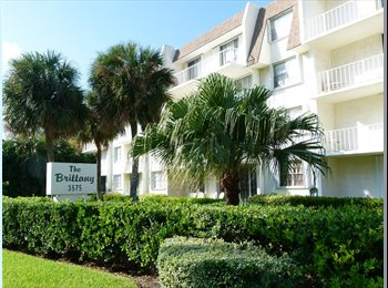 EasyRoommate US - 2 br. 2 bth. top floor condo available for lease - North Palm Beach, Ft Lauderdale Area - $1500