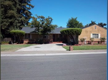 EasyRoommate US - Largo Master Bedroom for Rent - $425.00 per month - Stockton, Sacramento Area - $425