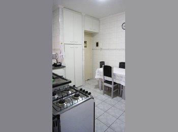 EasyQuarto BR - Amplo quarto mobiliado individual em apt. confort - Santos, RM Baixada Santista - R$650