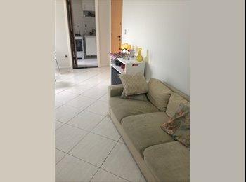 Aluguel de quarto em apartamento mobiliado