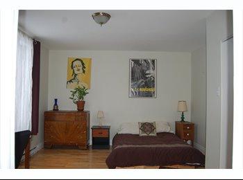 EasyRoommate CA - Superbe chambre dispo à partir d'avril - Mercier - Hochelaga - Maisonneuve, Montréal - $600