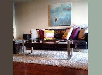 EasyRoommate CA - FULLY FURNISHED 1BR+DEN CONDO AVAILABLE FOR RENT O - West Toronto, Toronto - $900