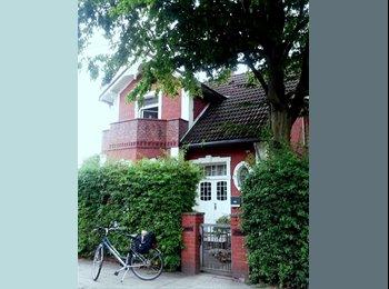 EasyWG DE - 2 Zimmer möbliert in Stadtvilla mit eigenem Bad - Billstedt, Hamburg - €520