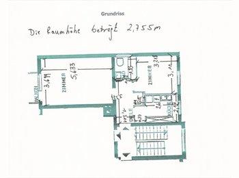 EasyWG DE - 20qm Zimmer mit Balkon Südseite Steglitz Lankwitz - Steglitz, Berlin - €450
