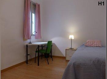 1244 Habitaciones en Argüelles - Piso a estrenar