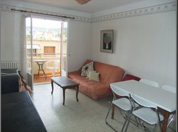 Appartager FR - appartement moderne: 2 grandes chambres- 2 colocat - Nord Centre Nice, Nice - €450