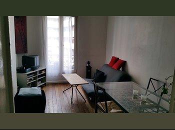 Appartager FR - Propose colocation appartement tout confort-juin13 - 18ème Arrondissement, Paris - Ile De France - €600
