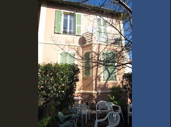 chambre meublée ds villa avec grand jardin