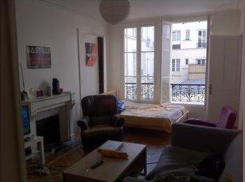 Chambre dans appartement dans le 10 ème