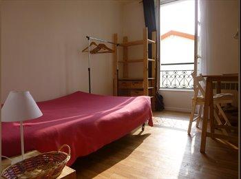Appartager FR - A la SEMAINE  Chambre. propre,calme.200 m de Paris - 13ème Arrondissement, Paris - Ile De France - €190