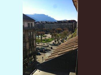 Appartager FR - Grenoble - hypercentre (Victor Hugo) 3P+C de 100m² - Hyper-centre, Grenoble - €390