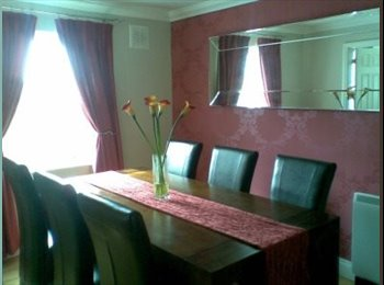 Double room in beautiful apartment close to Dublin