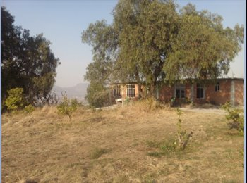 CompartoDepa MX - Se rentan cuartos de casa de campo - Xochimilco, DF - MX$2000