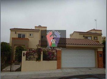 CompartoDepa MX - EN RENTA HERMOSA RESIDENCIA EN SAN MARINO RES. - Tijuana, Tijuana - MX$16000
