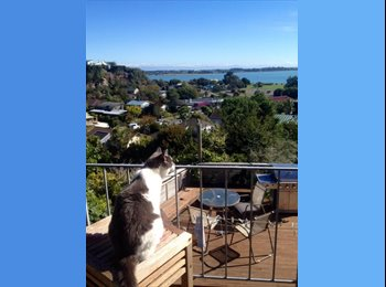 NZ -  GORGEOUS SEA VIEW BEDROOM AVAILABLE NOW: - Mt Pleasant, Christchurch - $250