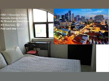 Ensuite/Master room (92M2) at Chinatown|CBD
