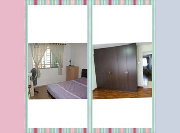 EasyRoommate SG - 1 Common Room for Filipinos; 2 ladies OR couple - Telok Blangah, Singapore - $1000