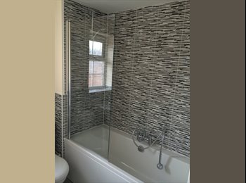 double room for rent in brand new 2 bed flat