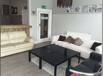Ensuite single and double rooms available from 100£ p/p p/w