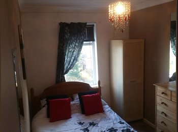 medium size room with double bed in winton £370 pm