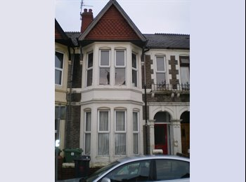 EasyRoommate UK - 4 double rooms in friendly Heath houseshare - Roath, Cardiff - £275