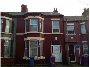 EasyRoommate UK - 2 bedrooms in huge house, off Smithdown Road. - Wavertree, Liverpool - £330