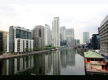 EasyRoommate UK - Double Room to Rent in Mansion House, Canary Wharf - Canary Wharf, London - £900