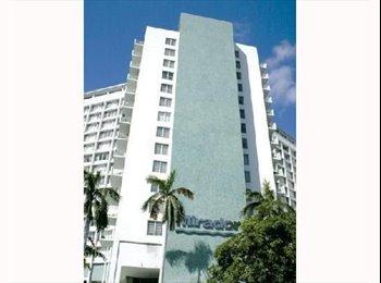 (South Beach Miami) Full Bay View 1/1 (852sft)