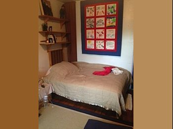 Furnished bedroom w/private shower available now for female...