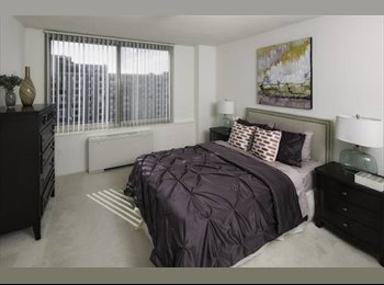 Huge Private bed, private bath 2 blocks from metro