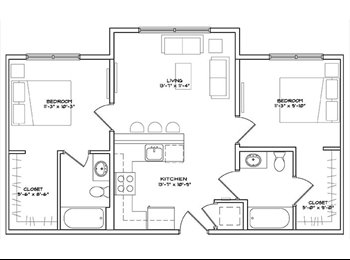 Seeking a Roommate for a Brand New Apt Complex