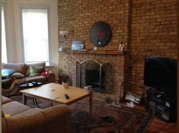 1 br for May & June in 2 bed, 2 bath in Lakeview