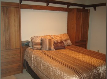 Furnished bedroom, WiFi, Cable, and Utilities