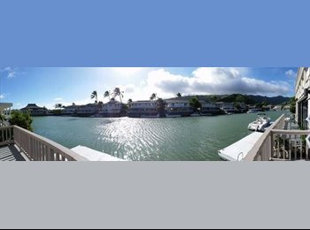 EasyRoommate US - Furnished House on the Water - Oahu, Oahu - $1100