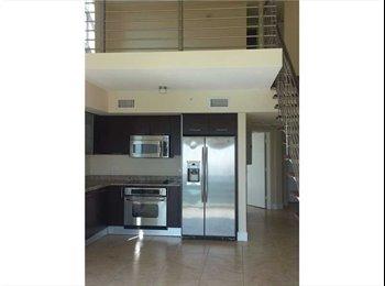 EasyRoommate US - 2 Story/Bilevel, 2 Beds, 2 Bts LOFT in Brickell - Brickell Avenue, Miami - $2900