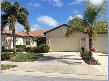 EasyRoommate US - Venice FL Venetion Falls Home 55+ $1,400 month - Sarasota, Other-Florida - $1400