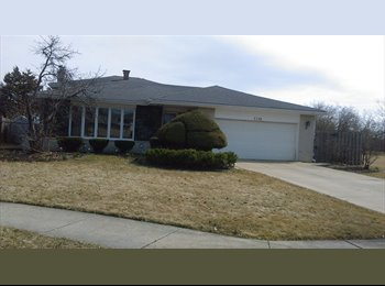 EasyRoommate US - NICE 3 BEDROOM SPLIT LEVEL IN DOWNERS GROVE - Naperville, Naperville - $500