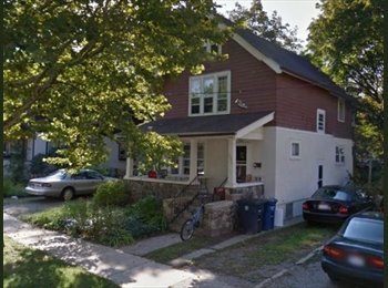 EasyRoommate US - Summer Sublet 1 Bedroom in a Great House with Yard - Ann Arbor, Ann Arbor - $750