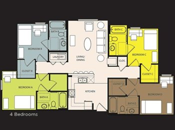 $530 MALE or FEMALE ucf  sublease May 1-July 31