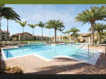 EasyRoommate US - Room for rent in Atlantic Doral Luxurious complex - Doral, Miami - $720