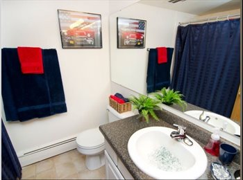 subleasing one bedroom in a two bedroom apartment!