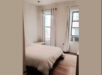 EasyRoommate US - Furnished private LIV RM + BDR all for you! - Upper West Side, New York City - $1950